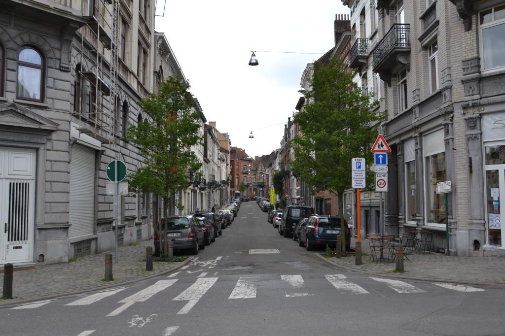 La rue de la ruche à Schaerbeek (Creative Commons)