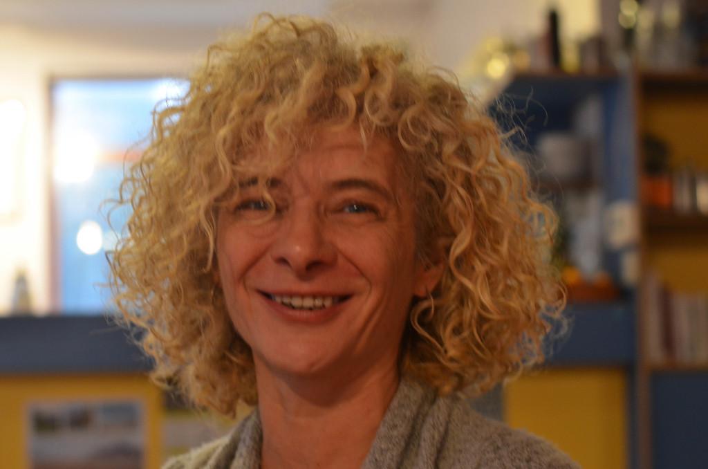 Isabelle, une des responsables du Sésam' (Crédit Photo : H. Temsamani)